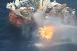 Methane, Benzene burning at